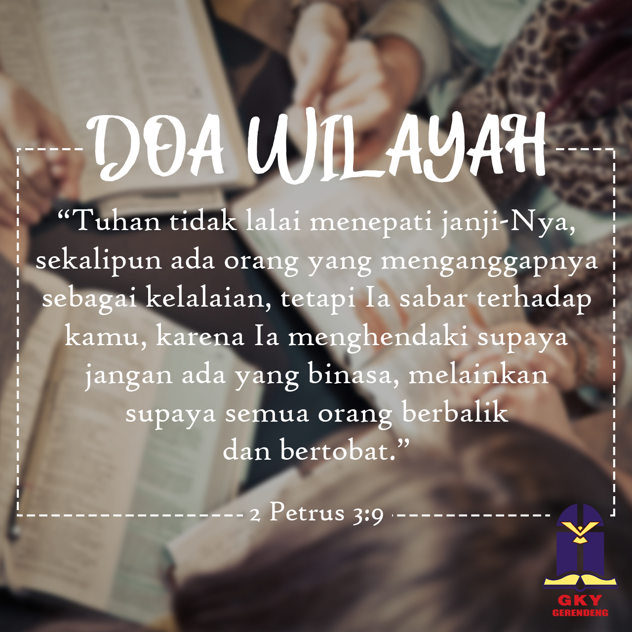 Doa Wilayah 18 September 2019