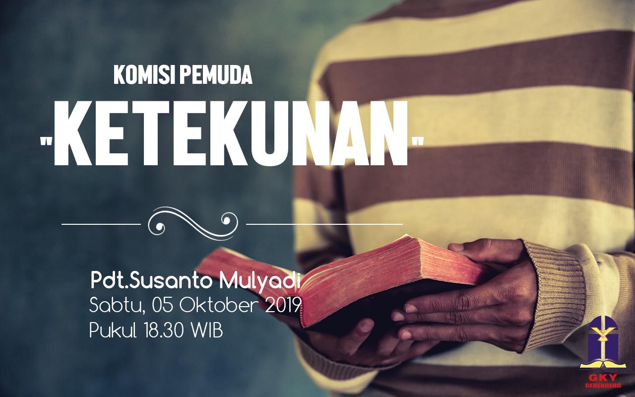 Komisi Pemuda GKY Gerendeng 05 Oktober 2019