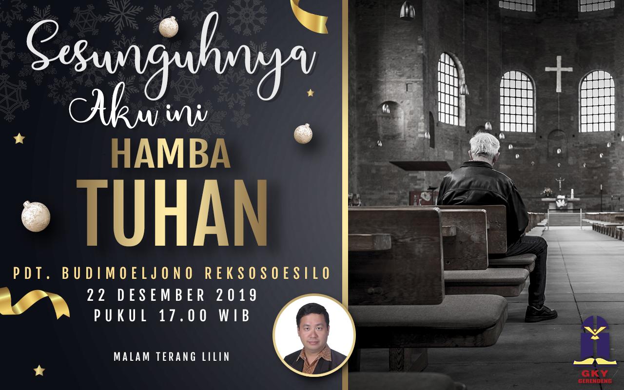 Rangkaian Ibadah Natal 2019