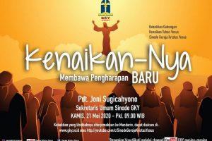 Kebaktian Gabungan Kenaikan Tuhan Yesus (Streaming)