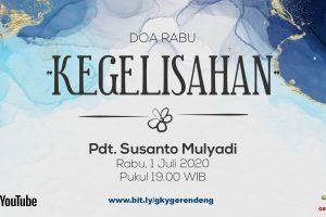 Ibadah Online Doa Rabu 01 Juli 2020