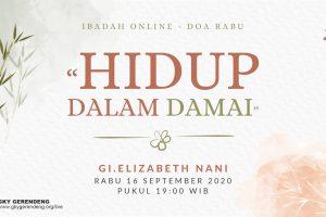 Doa Rabu 16 September 2020