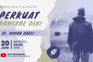 Ibadah Umum Onsite & Online 20 Juni 2021